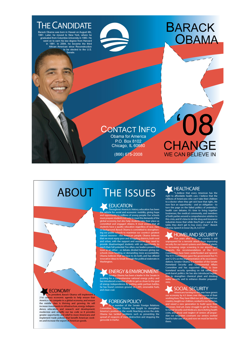 9 Election Brochure Templates Free Psd Eps ~ Political Brochure